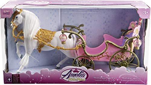 Barbie Königliches Pferd und Kutsche
