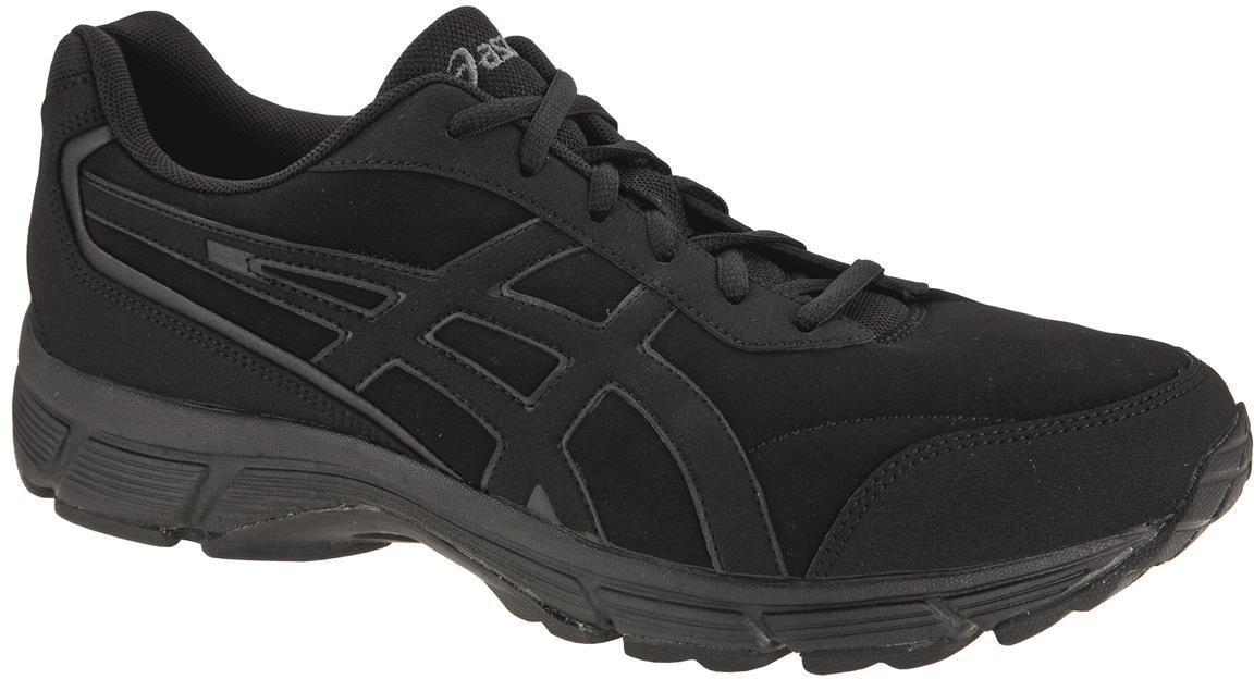 Asics Gel Mission Damen Schuh, Farbe:BLACKONYXSILVER, Größe:7 US 38 EU