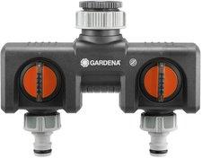 Anschlussmöglichkeit Für 2 Geräte An Den Wasserhahn Gardena 2-Wege-Verteiler