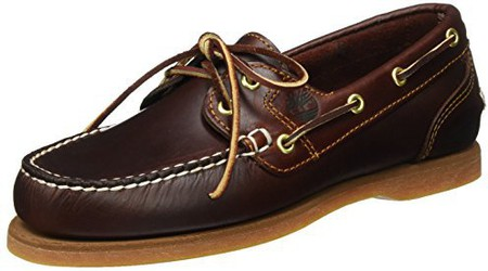 Timberland Women's Classic Amherst 2 Eye Boat Shoe (72333) rootbeer smooth günstig