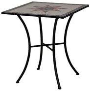 Mosaik Tisch Mosaiktisch Kreis Gartentisch Bistromöbel Bistrotisch 60x70cm