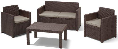 Allibert Merano Lounge-Sitzgruppe (Polyrattan)