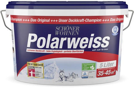 Schoner Wohnen Polarweiss 5 Liter Gunstig Kaufen