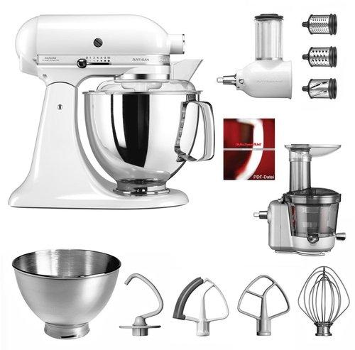 KitchenAid Artisan Küchenmaschine Weiß 5KSM150PS EWH