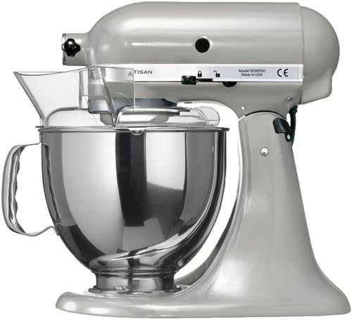 KitchenAid Artisan Küchenmaschine Metallic Chrome 5KSM150PS EMC