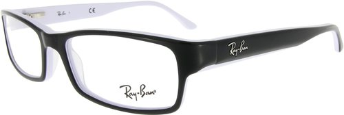 Ray Ban RX5114 2097 (black on white edge)