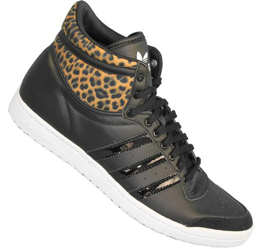 ADIDAS TOP TEN HI Sleek W Damen Sneaker BlackLeopard M20835