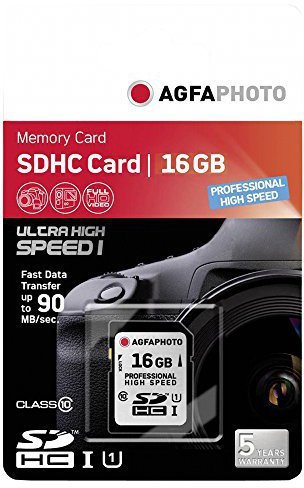 AgfaPhoto SDHC 16GB Professional High Speed Class 10 UHS-I (10503)