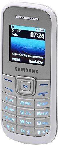Samsung E1200i Weiß ohne Vertrag