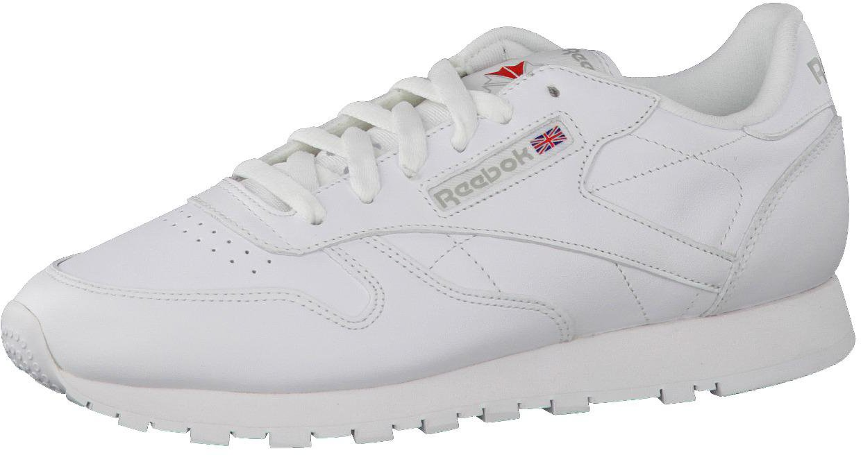 the best attitude 5ff35 42b12 Reebok Classic Leather Women white