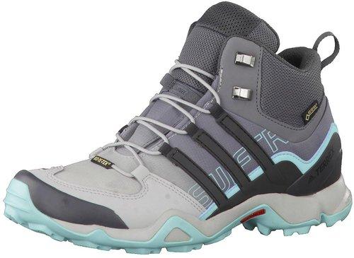 adidas BA9943 TERREX SWIFT R MID GTX Blau Herren Hiking Schuhe