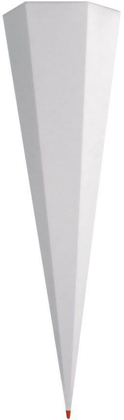 Roth Rohling 70cm rund schwarz einfarbig Schultüte Zuckertüte Schulanfang Spitze