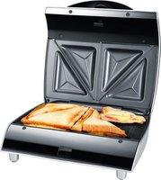 Edler Sandwich-Toaster Exido 12240004 Sandwich-Maker Sandwich-Grill 750 Watt