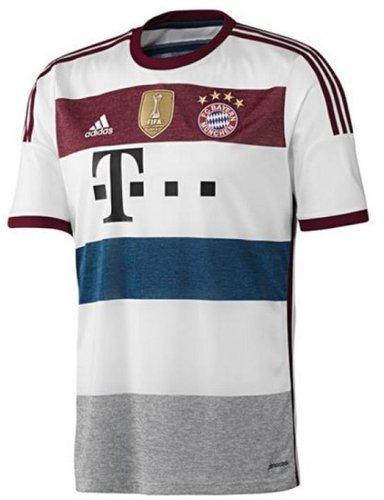 half off ae550 2b154 Adidas FC Bayern München Away Trikot 2014/2015