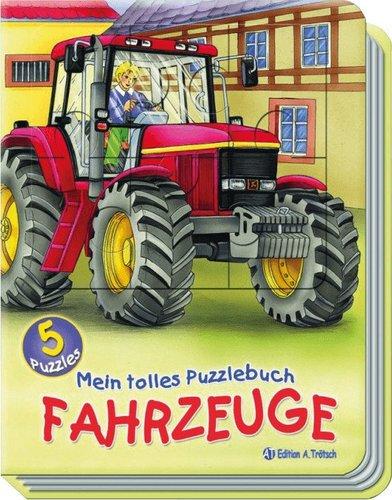 Edition A. Trötsch Mein tolles Puzzlebuch - Fahrzeuge