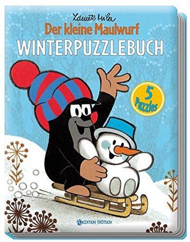 Edition A. Trötsch Winterpuzzlebuch - Der kleine Maulwurf