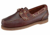Timberland Classic 3 Eye Handsewn Shoe Brown Smooth bestellen