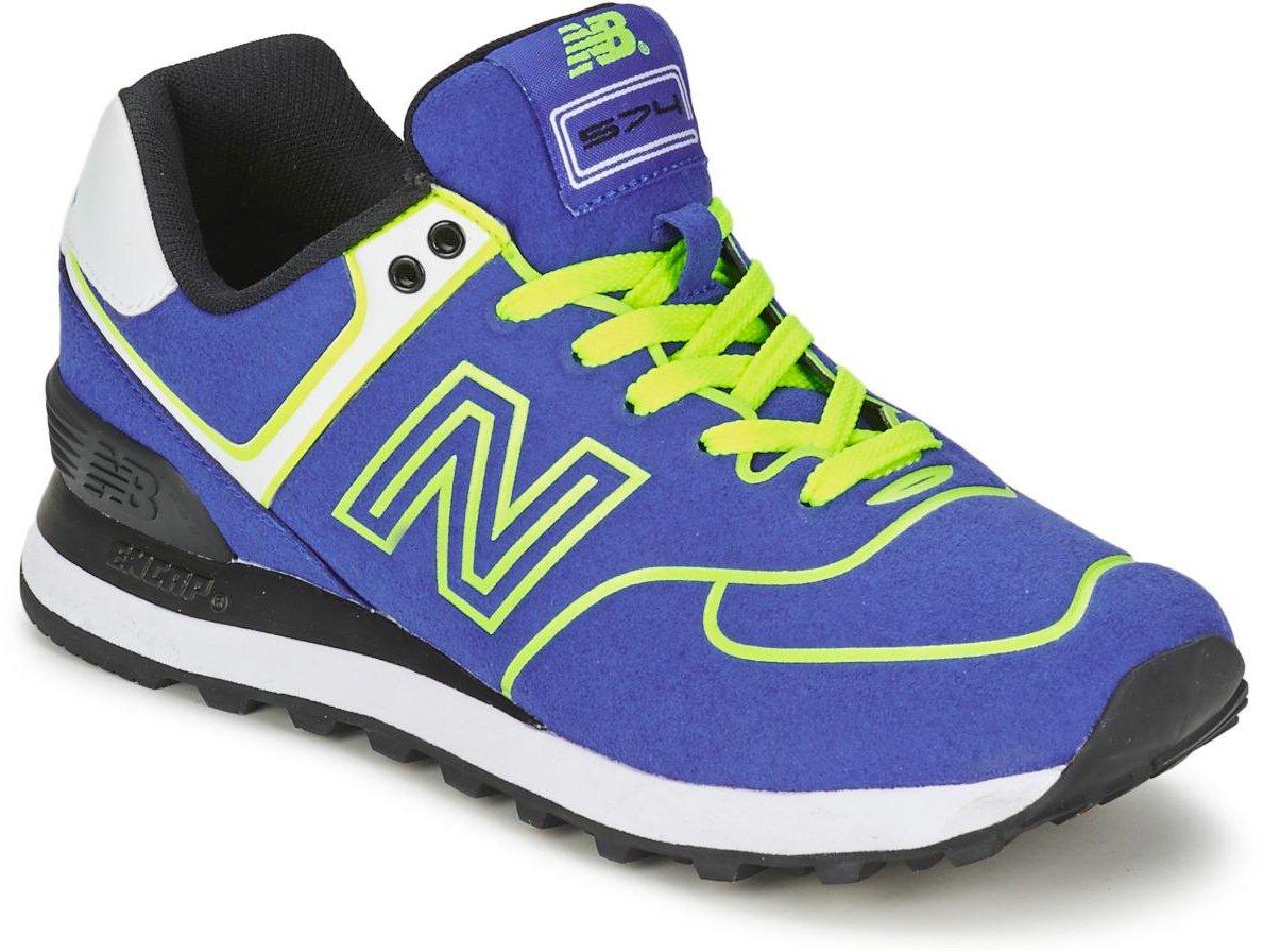 New Balance WL574 neon blueneon green (WL574NEB)