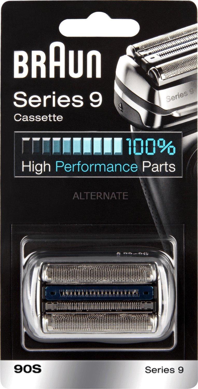 BRAUN Schersystem 90S silber passend zu allen Series 9 Rasierern von Braun