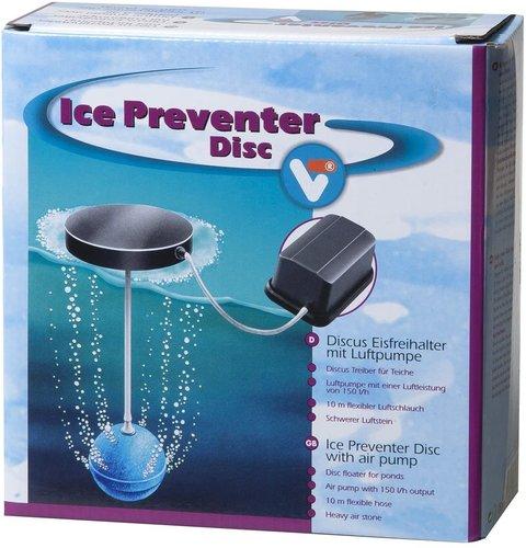 Velda Eisfreihalter Discus mit Luftpumpe