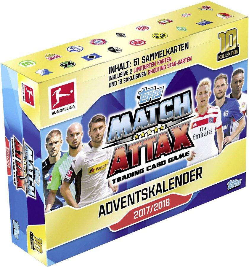 Topps Match Attax Adventskalender