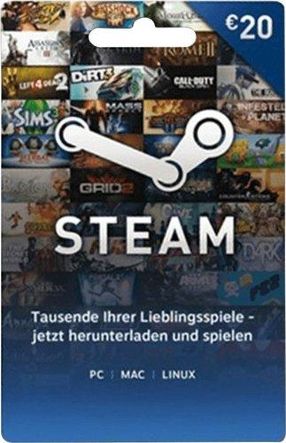 Valve Steam Guthabenkarte