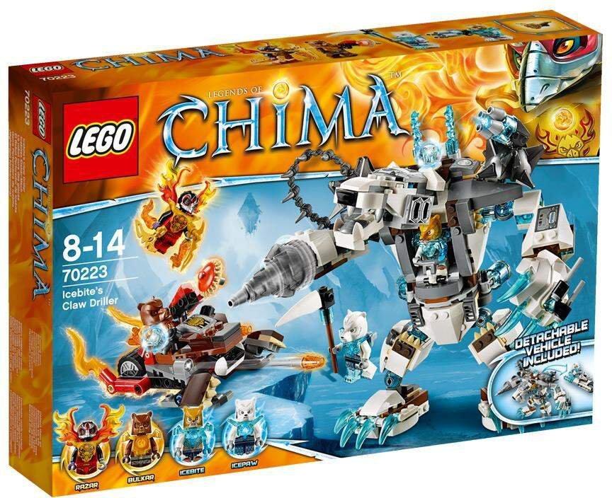 Lego Legends Of Chima Icebites Eisbär Mech 70223 Günstig