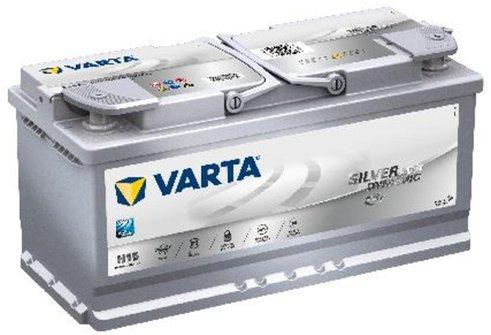 Varta Silver Dynamic AGM 12V 105Ah H15