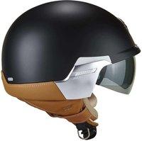 MT Street Jet-Helm Motorrad-Helm Roller-Helm Scooter-Helm Bobber Mofa-Helm Chopper Retro Cruiser Vintage Pilot Biker ECE 22.05 Enitire Matt Gr/ün, XS