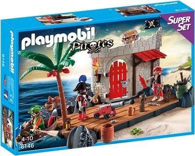 Playmobil Piraten - SuperSet Piratenfestung (6146)