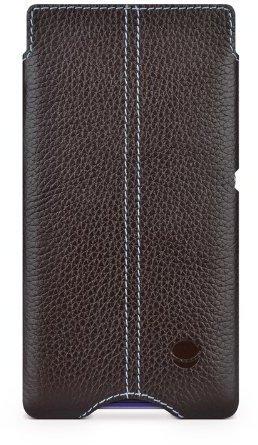 Beyza Cases Zero Ledertasche Braun (Sony Xperia Z1 Compact)