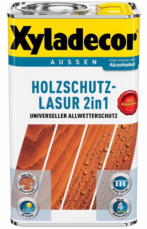 Sehr Xyladecor Holzschutzlasur 2in1 5 l Ebenholz günstig kaufen NE95
