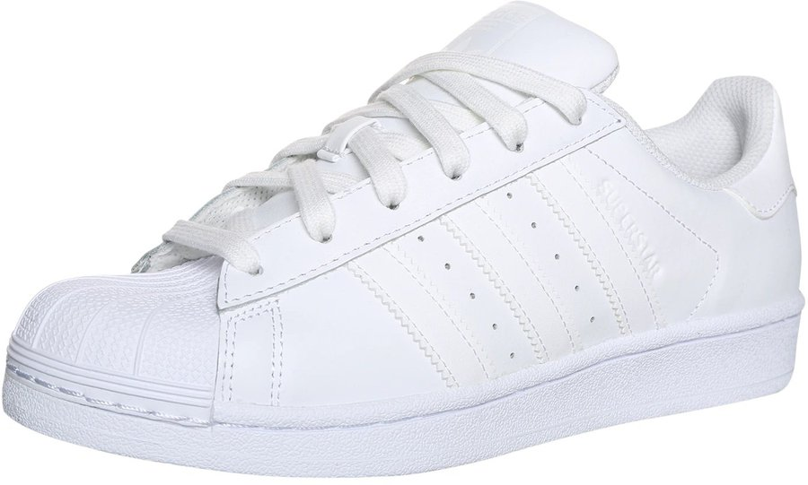 timeless design b24fc f0849 Adidas Superstar Foundation all white
