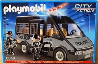 Playmobil City Action Polizei-Mannschaftswagen (6043)