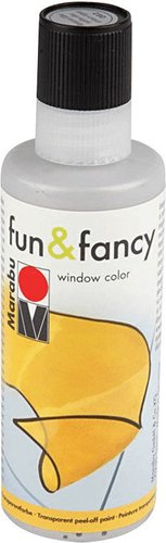 Marabu Fun & Fancy Window Color 80 ml schwarz