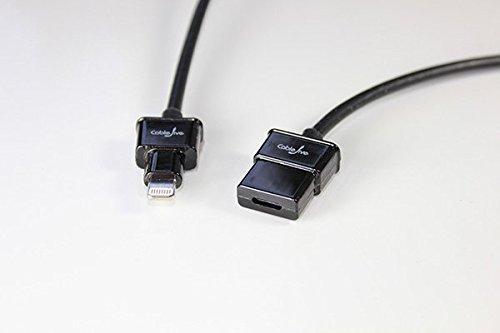 CableJive dockXtender L Lightning Verlängerungskabel (180 cm)