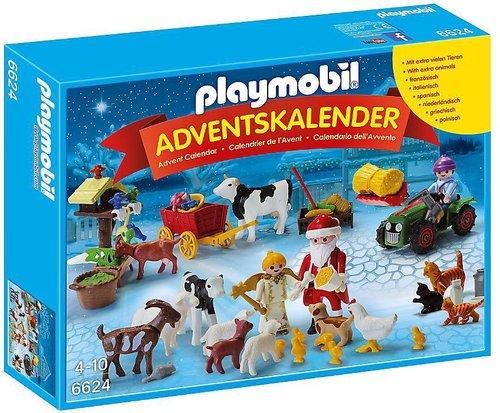 Playmobil Adventskalender Weihnacht auf dem Bauernhof (6624)