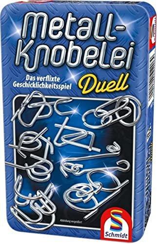 Schmidt Spiele Metall-Knobelei Metalldose (51206)