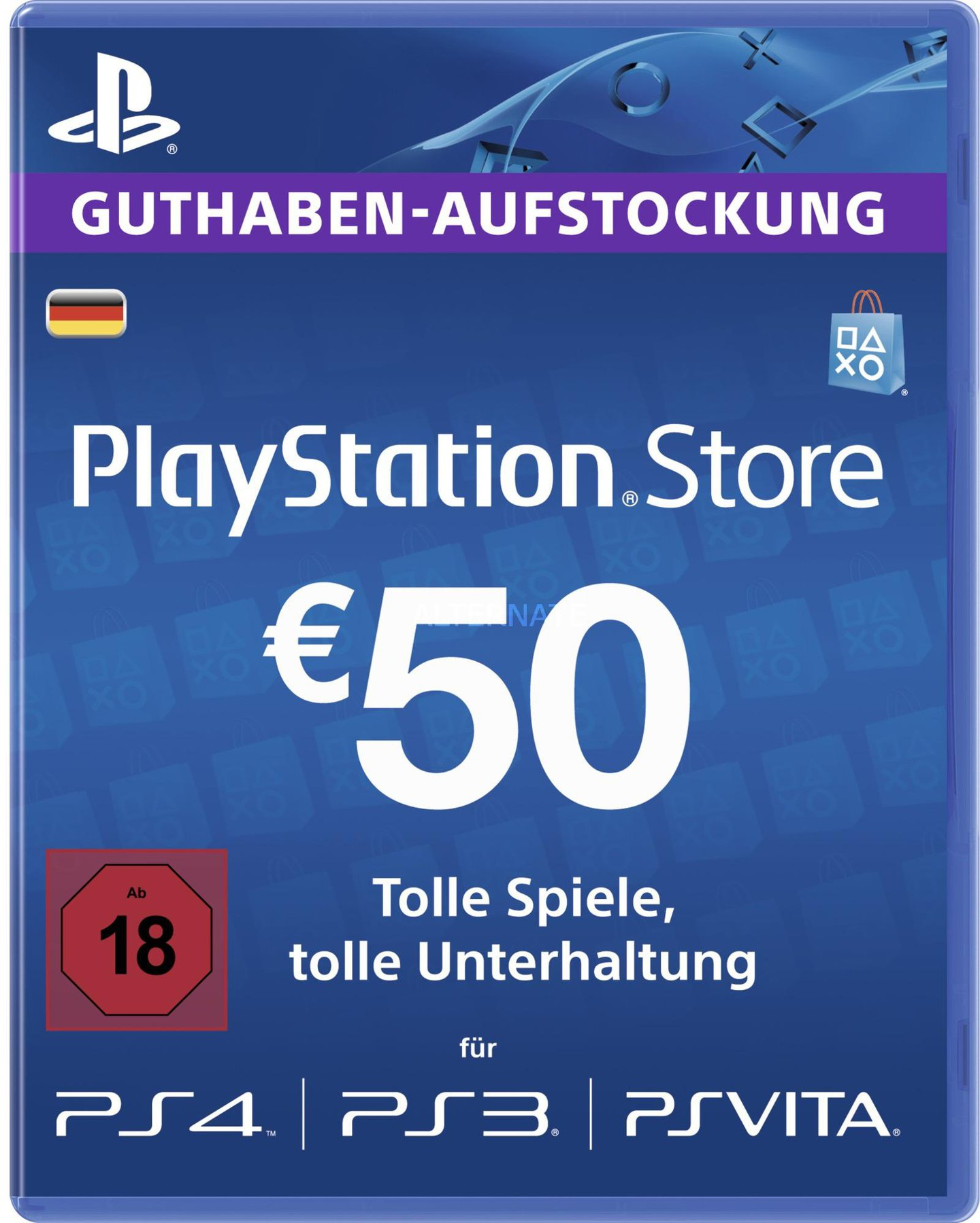 Playstation Karte Aufladen.Sony Playstation Network Card 50 De