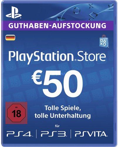 Sony PlayStation Network Card 50€ (DE)