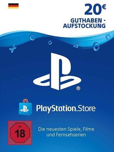 Sony PlayStation Network Card 20€ (DE)