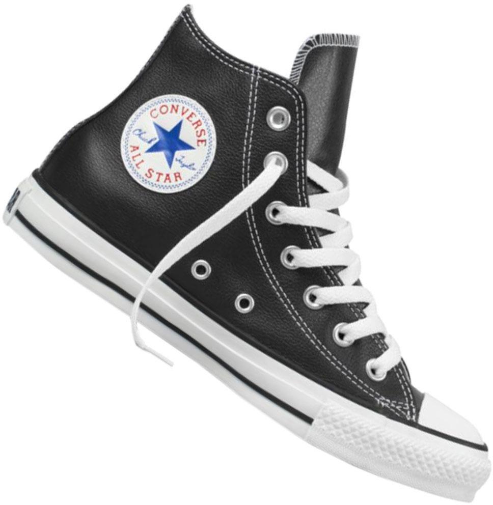 Black All Auf Chuck ✓ Hi Taylor Leather Converse Star 8n0OwPkX