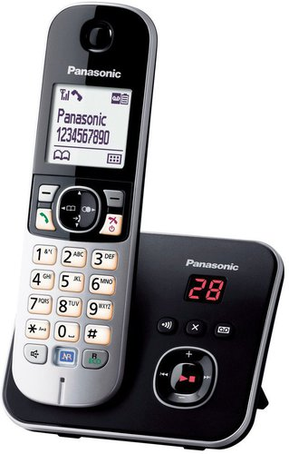Panasonic KX-TG6821 Single schwarz