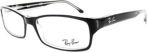 Ray Ban RX5114 2034 (black on transparent)