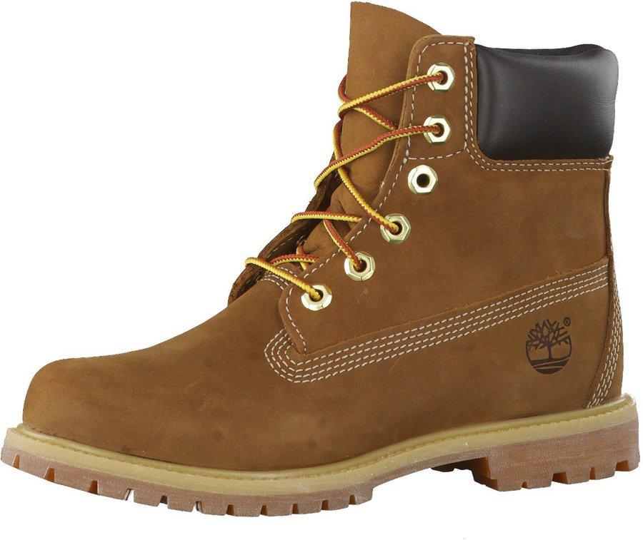 Timberland Women's 6 Inch Premium Waterproof Boot (10360) rust nubuck