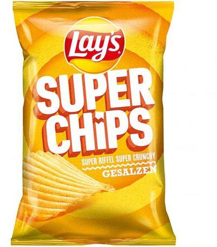 Lay's Super Chips gesalzen (175 g)