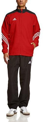 Adidas Sereno 14 Trainingsanzug, Größe:S, Farbe:Rot
