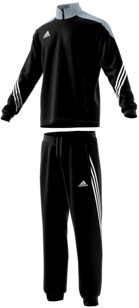 new products superior quality best prices Adidas Männer Sereno 14 Präsentationsanzug black/silber