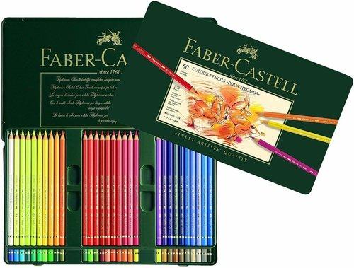 Faber-Castell Polychromos Farbstifte 60er Metalletui