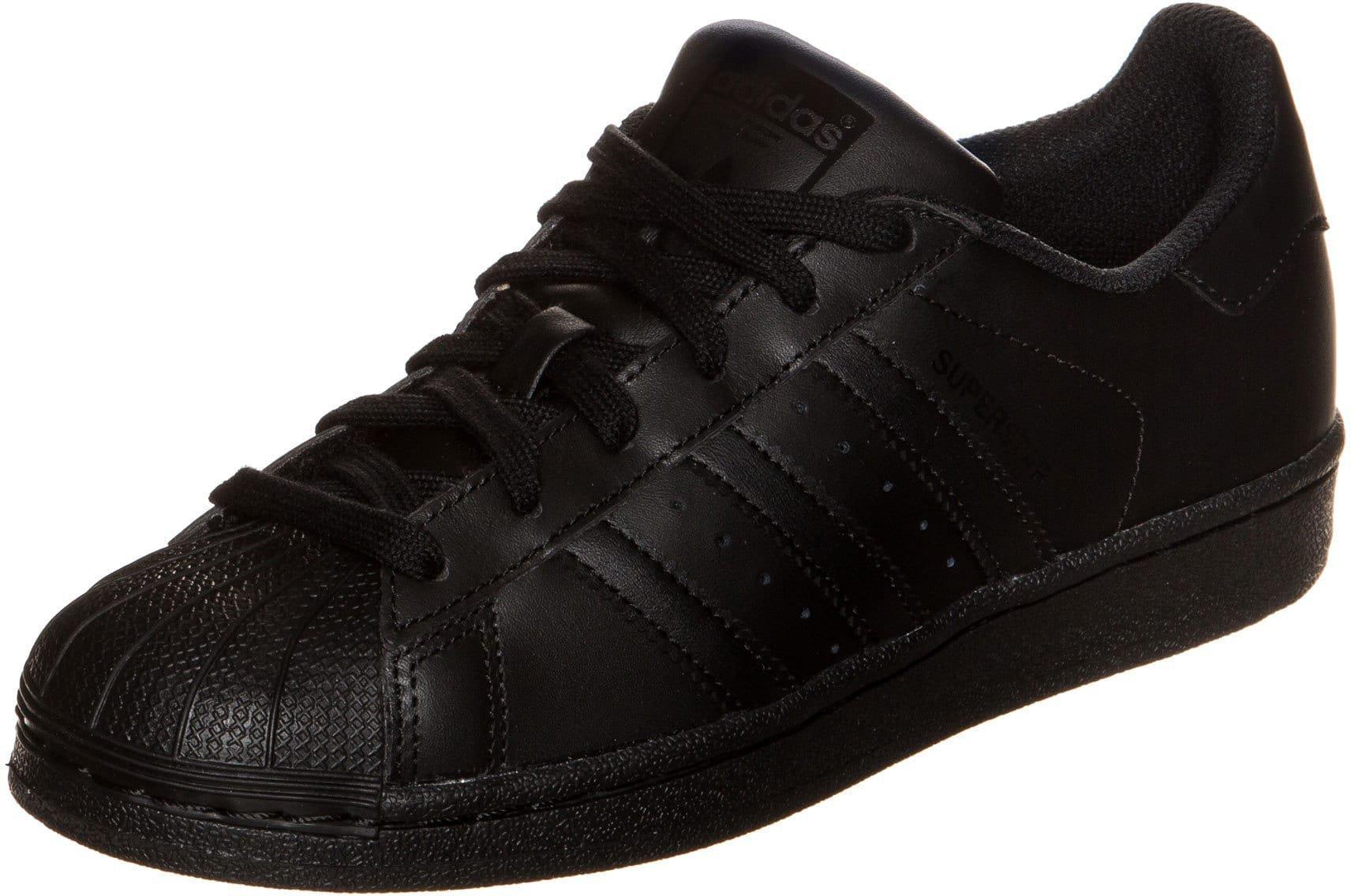 Adidas Superstar Foundation all black